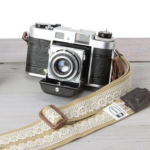 Camera Strap/ Lacebeige