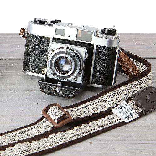 Camera Strap/ Lacebrown