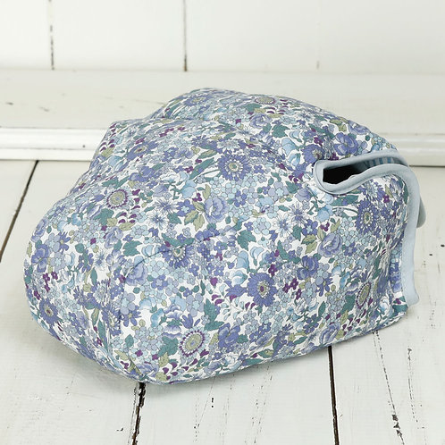Camera Case/ L size/ Blue flower