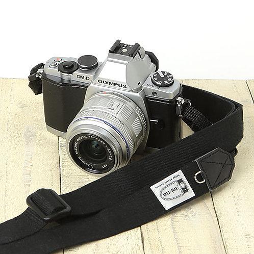 Camera Strap/ H.L.Linen black