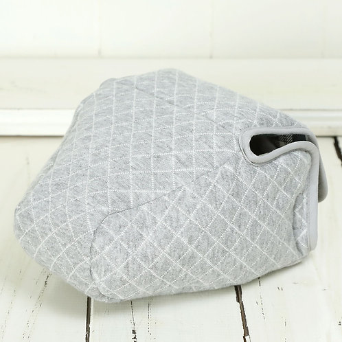 Camera Case/ L size/ Gray jersey