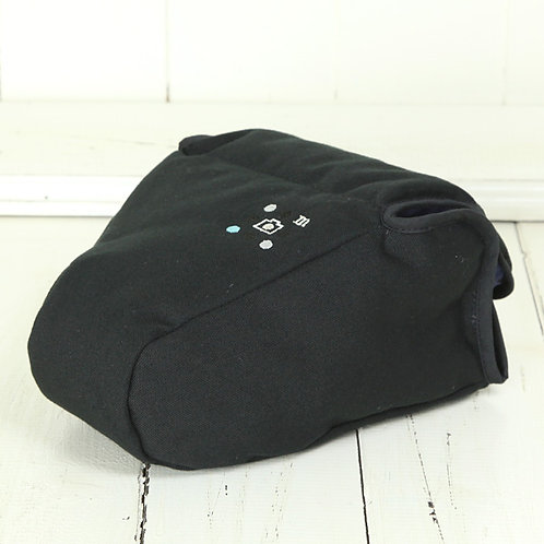 Camera Case/ L size/ Needlework black