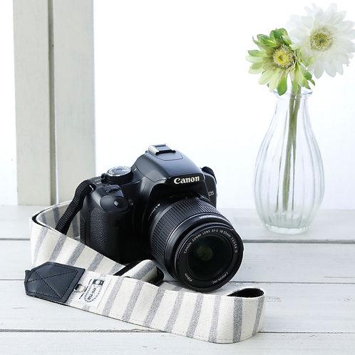 Camera Strap/Gray stripe
