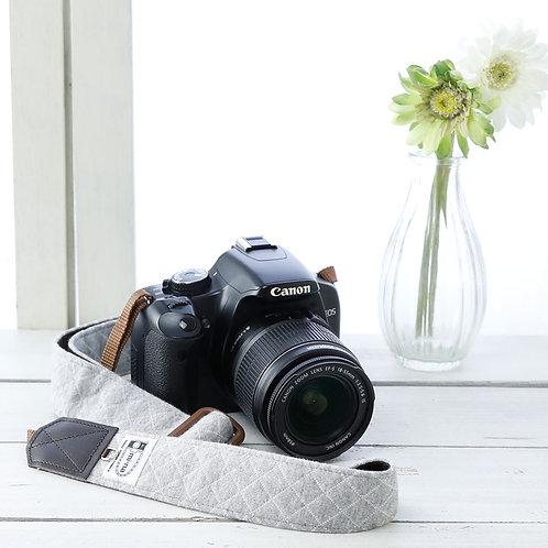 Camera Strap/Gray jersey