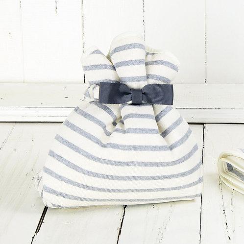 Wrap Cloth / Gray stripe