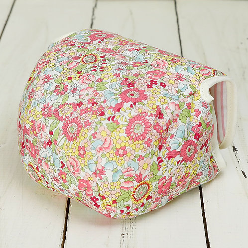 Camera Case/ M size/ Pink flower