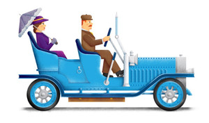 Edwardian Car