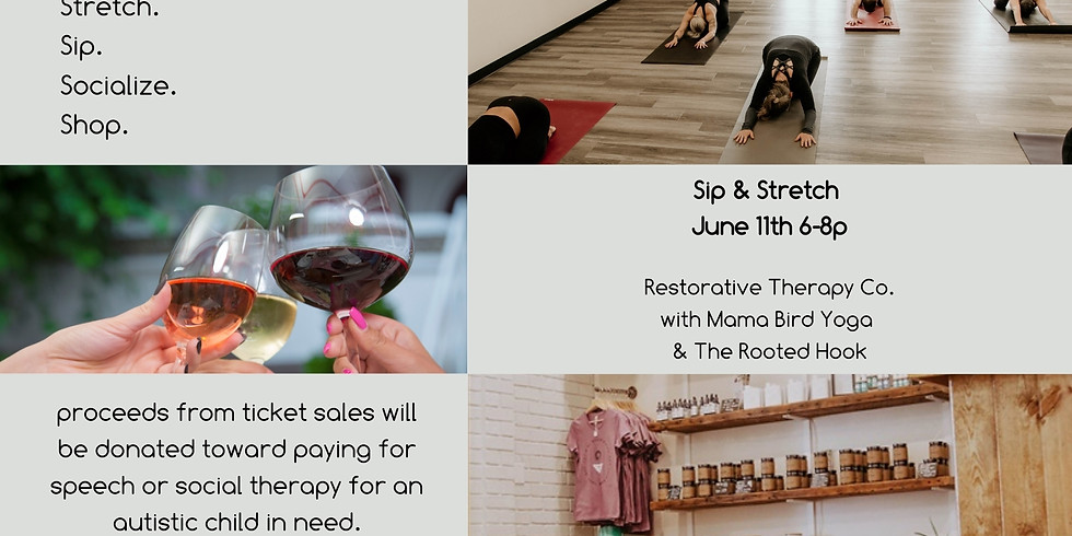Sip & Stretch Happy Hour