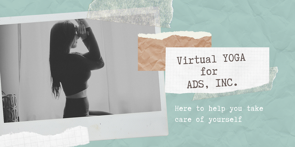 Yoga virtual para ADS - 3 de junio de 2020