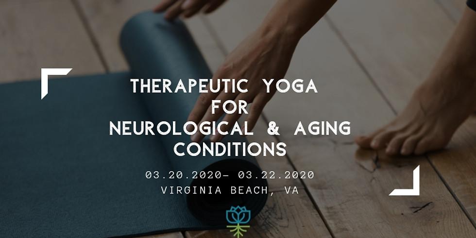 Yoga terapéutico para condiciones neurológicas y de envejecimiento