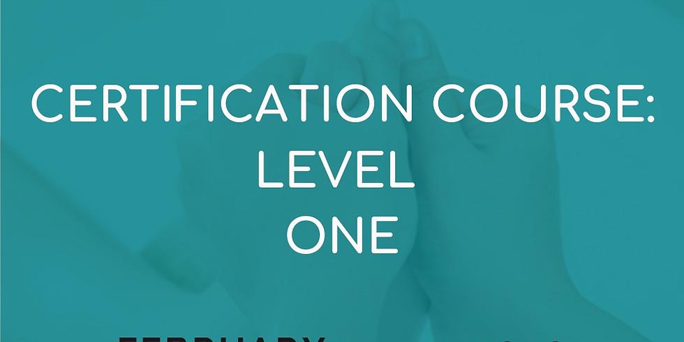 Certificación de reflexología - Nivel uno