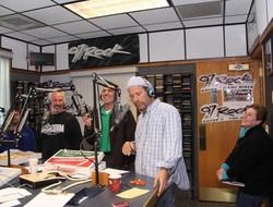 Silvio on the radio