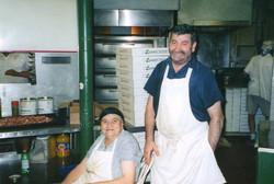 Mama Leonardi and Louie
