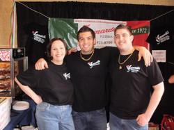 Claudia, Tony & Nick