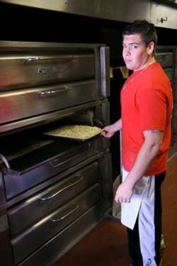 Tony at the ovens