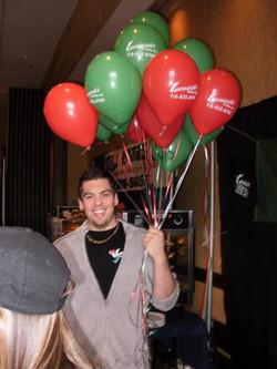 Way too many balloons!