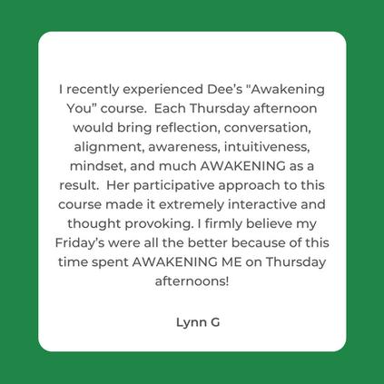 White Client Testimonial Instagram Post.