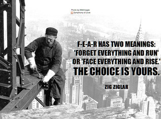 Befriend Your Fears and Challenges