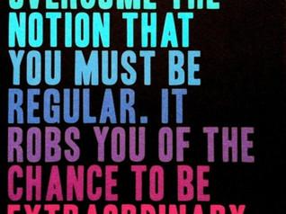 Aspire to Be Extraordinary