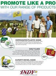 Golf Outing Promo Products