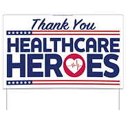 Thank-you Healthcare Heroes Signs