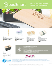 Eco-Friendly Bamboo Promo Products