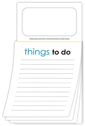 Magnetic Scratch Pad/Notepad - Things To Do
