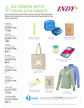 Eco-Friendly Inexpensive Promo Products
