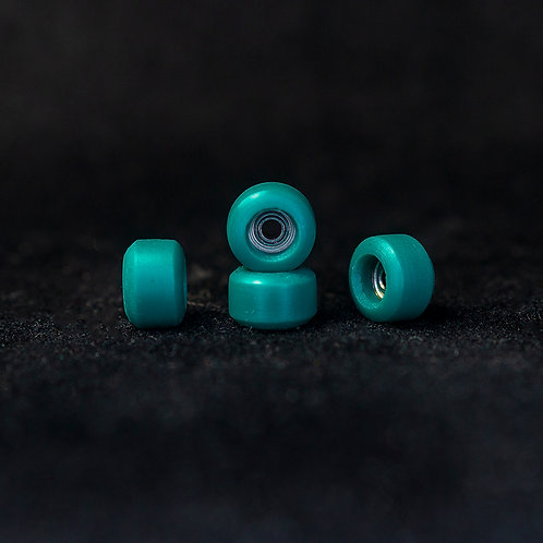 Goth fingerboard wheels / King Emerald - 72D