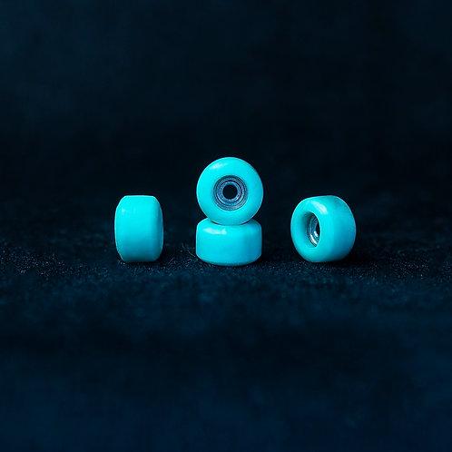 Goth fingerboard wheels / Emerald Light - 72D