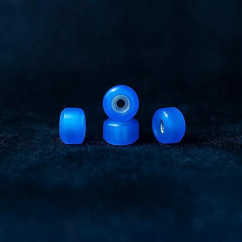 Goth fingerboard wheels /Transparent Ocean Wave - 72D