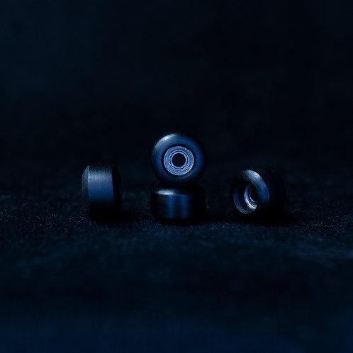 Goth fingerboard wheels / Black Diamond - 72D