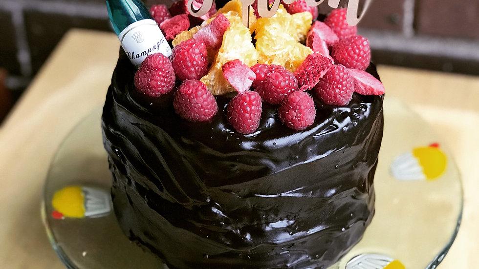 "Last minute surprise cake 6"""