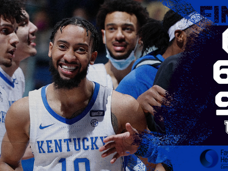 Kentucky Finishes The Regular Season With A Win
