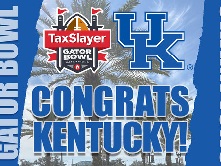 Kentucky wins the TaxSlayer Gator Bowl over NC State