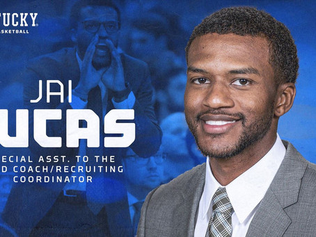Jai Lucas is officially hired by Kentucky