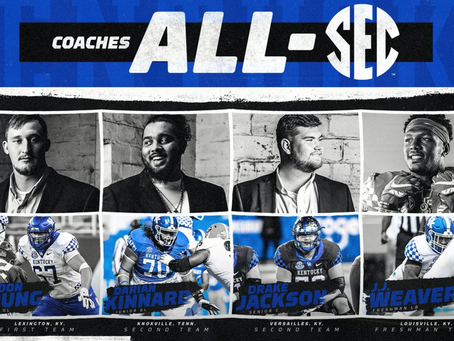 Four Wildcats Earn Coaches All-SEC Honors