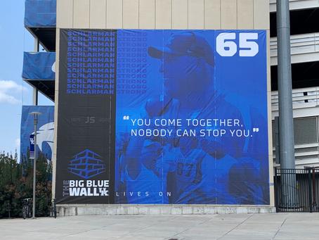UK Unveils A John Schlarman Tribute Banner