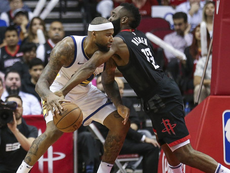 DeMarcus Cousins signs with the Houston Rockets