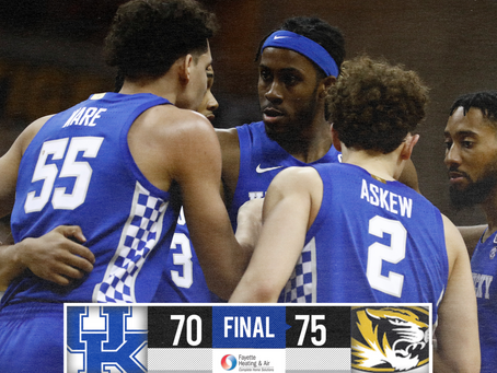 Kentucky Loses At Missouri