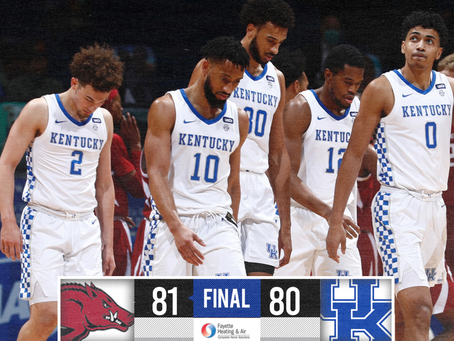 Kentucky Loses Seventh Game At Rupp This Season