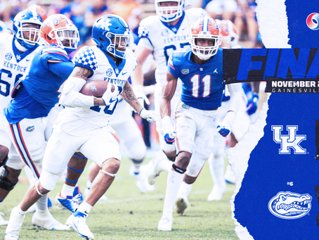 Kentucky finds a loss in Gainesville