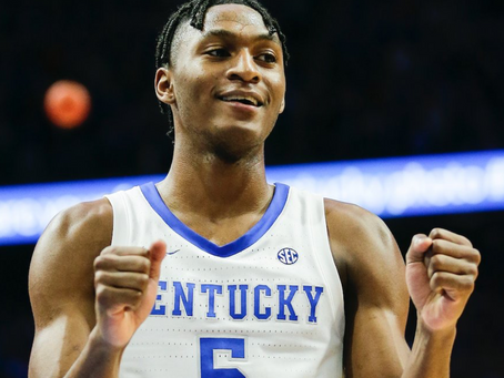 Immanuel Quickley is headed to New York