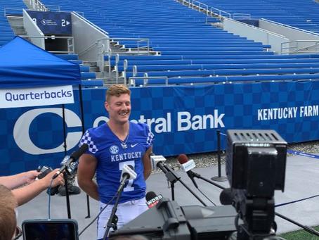 Kentucky Media Day: QB Edition