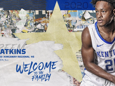 Kentucky adds a walk-on to the roster
