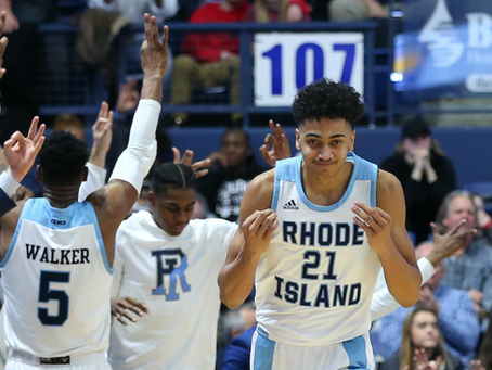 WATCH: Rhode Island Transfer Jacob Toppin doesn't know what gravity is