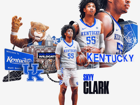 Kentucky picks up a commitment from Skyy Clark