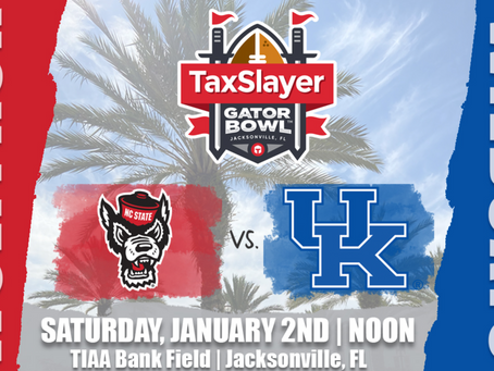 Kentucky Is Headed To The Gator Bowl