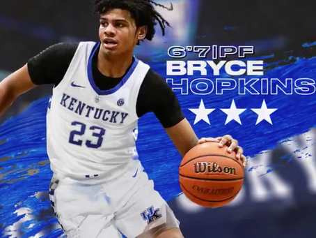 Bryce Hopkins signs with Kentucky