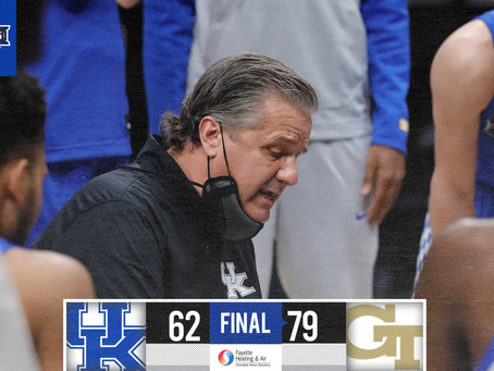 The Cats continue to struggle, fall to 1-3.